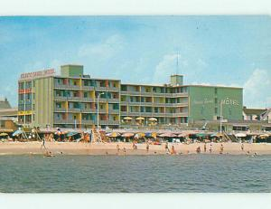 Unused Pre-1980 ATLANTIC SANDS MOTEL Rehoboth Beach Delaware DE s3187