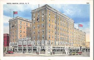 Hotel Martin Utica NY 1935