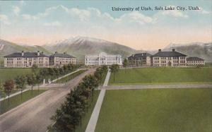 University Of Utah Salt Lake City Utah Curteich