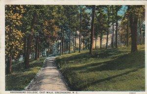 GREENSBORO , N.C. , 1934 ; East Walk , Greensboro College