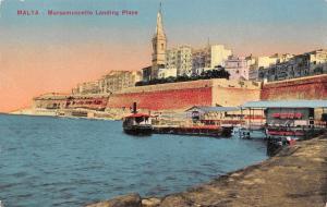 Malta Maramuscetto Landing Place, boats