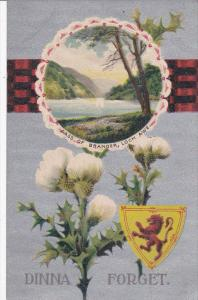 Coat Of Arms, Dinna Forget, Pass Of Brander, LOCH AWE, Scotland, UK, 1900-1...