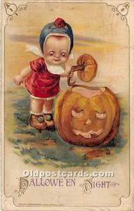Halloween Postcard Old Vintage Post Card Artist Jason Freixas 1915