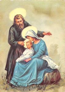 Zalig Kerstfeest, Mother with Baby 1968 Postcard