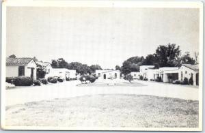 New Orleans, Louisiana Postcard LA FONDA MOTEL Highway 11 & 90 Roadside c1950s