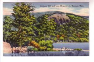 Maidens Cliff, Lake Megunticook, Camden, Maine,