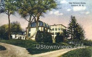 Odd Fellows Home Concord NH Unused