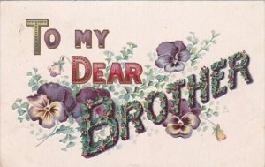 To My Dear Brother 1908