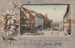 AUGSBURG , Germany , 1903 ; Mittlere Maximilianstrasse