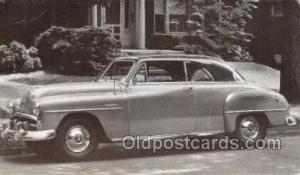 1951 Plymouth Belvedere Automotive, Autos, Cards Old Vintage Antique Postcard...