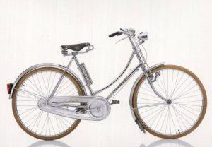Ladies Girls Raleigh Tourist 1970s UK Bicycle Cycle Bike Postcard