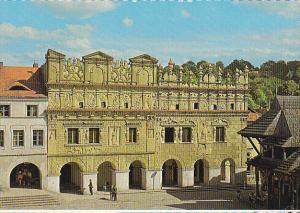Poland Kazimierz Dolny Kamienice Przybylow w Rynku