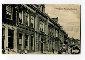 271253 Netherlands KAMPEN Theological School 1916 y RPPC label