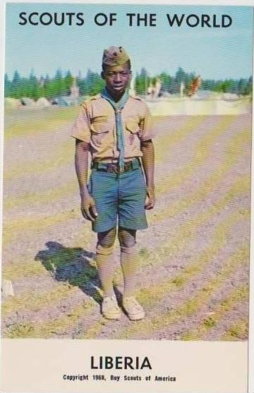 Boy Scouts of the World: #89 Liberia, 1968