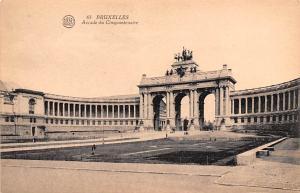 Bruxelles Belgium, Belgique, Belgie, Belgien Arcade du Cinquantenaire Bruxell...