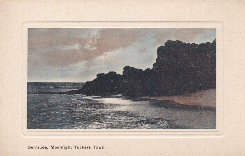 BERMUDA, 1900-1910's; Moonlight Tuckers Town