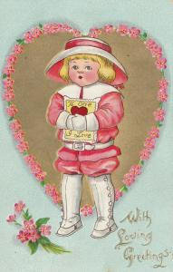 VALENTINE'S DAY: TUCK DAINTY DIMPLES Series No.3 , 1910-10s, # 7