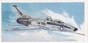 Lyons Tea Vintage Trade Card Wings Of Speed 1961 No 19 North American YF-100C...