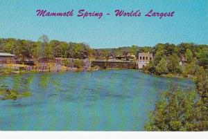 Mammoth Spring Dam, World's Largest,  In the Beautiful Ozarks, Arkansas, 40-60s