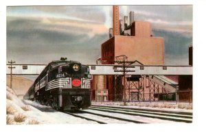 Pittsburgh & Lake Erie Railroad Train, Phillips Power South Heights Pennsylvania