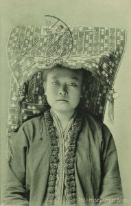 siam thailand, Native Hill Tribe Woman from Upper-Siam (1911) Postcard