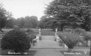 BR81780 gardens stratton park  real photo  uk hampshire