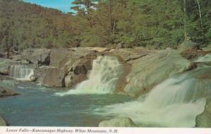 New Hampshire White Mountains Lower Falls Kancamagus Highway