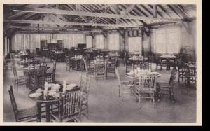 New York ST. Joesphs,Grils Camp Mess Hall Saint Josephs  Albertype