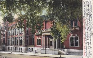 Free Public Library , WORCESTER , Massachusetts , PU-1910