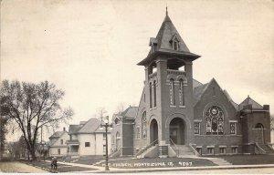 c.'36, Real Photo, RPPC, M.E. Church,Montezuma IA, MSG,, Old Post Card