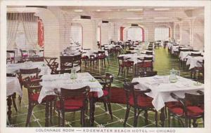 Illinois Chicago Edgewater Beach Hotel The Colonnade Room