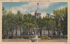 State Capitol Building Carson City Nevada 1951