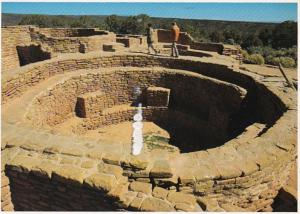 Colorado Mesa Verde National Park The Sun Temple 1995