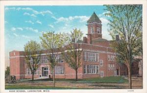Michigan Ludington High School Curteich
