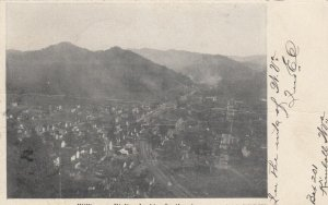 WILLIAMSTON , West Virginia, 1908; Looking Southeast