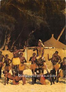 Republique du Senegal Folklore Senegalais African Nude Unused
