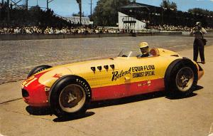 500 Mile Speeway 1950 Champion, Johnny Parsons Auto Racing, Race Car Indianap...