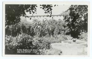 Patio, Ramona's Marriage Place, Old San Diego, California CA, Kodak Paper Real P
