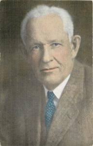 Niles Michigan~Dr Fred N Bonine~Portrait~Wolverine Sprinter & Eye Doctor~1940s