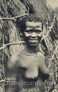Zulu Girl, S.A. African Nude Unused