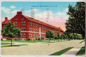 Barracks, Fort Bragg NC
