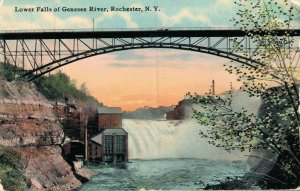 USA Lower Falls of Genesee River Rochester New York 05.95