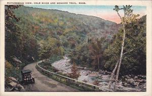 Pictiresque View Cold River And Mohawk Trail Massachusetts 1930