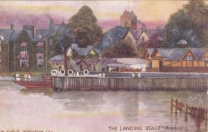 BOWNESS, England, 1900-1910's; The Landing Stage , TUCK #7242