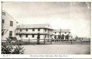 New Jersey Fort Dix Reception Center Barracks
