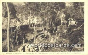 Ruines D'Angkor Cambodia, Cambodge Pre Rup, Vue des efages inferieurs Ruines ...