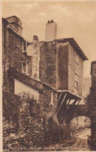 POLPERRO, England, 1900-1910's; House On The Props
