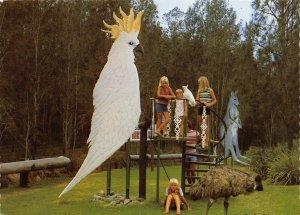 Australia Postcard, Cockatoo, Batehaven Birdland, Beach Road, Batehaven, NSW 83Z