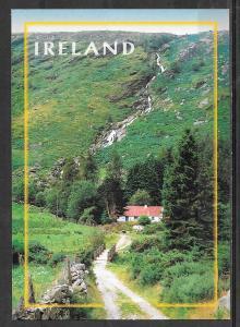 Ireland, Cottage and Waterfall, unused