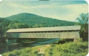 Blenheim Bridge N.Y 1960s unused Postcard